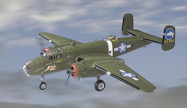 B-25D Mitchell, U.S.A.A.F. 500 BS, 345 BG