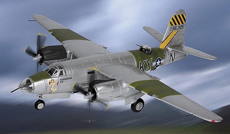 B-26B-55-MA Marauder, U.S.A.A.F., 1:48, Franklin Mint