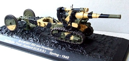 B-4 M1931 203 mm Howitzer, 2nd Baltic Front, Kurland (U.R.S.S) Spring, 1945, 1:72, Altaya