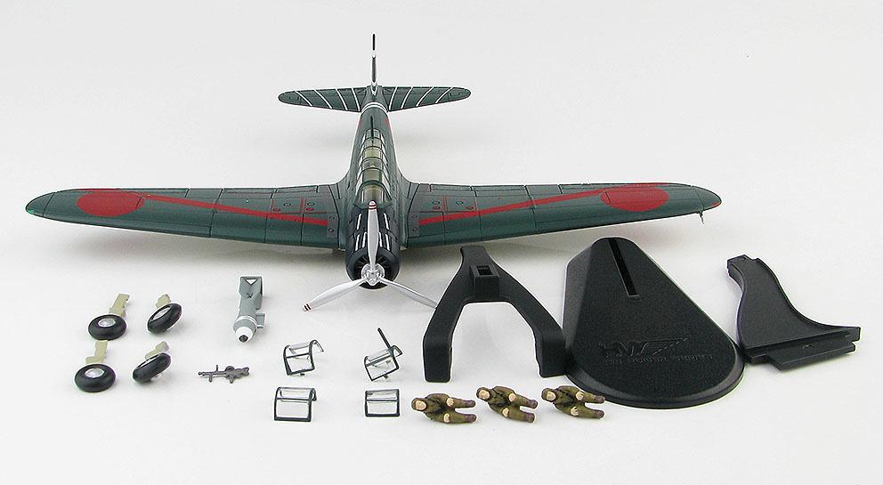 B5N2 Kate, Teniente Cdr. Shigekazu Shimazaki, Pearl Harbor, 7 de diciembre, 1941, 1:48, Hobby Master