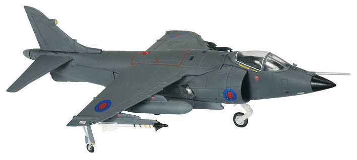 BAE Sea Harrier FRS.1-801 NAS, Fleet Air Arm, Nigel Ward, HMS Hermes, Flaklands 1982, 1:72, Corgi