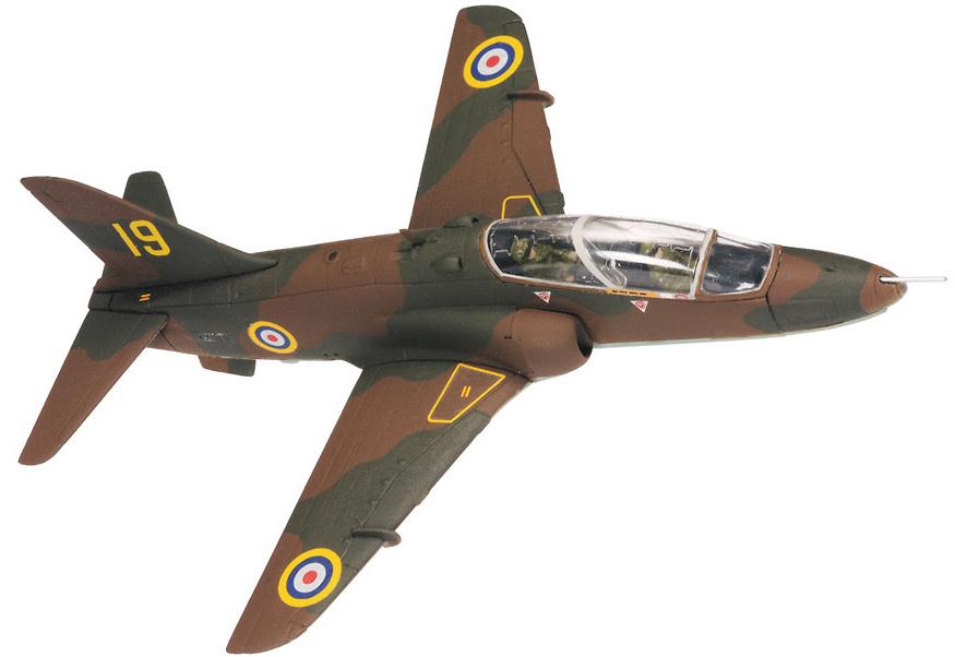 BAe Hawk T.1A, RAF 19 Sqn., 4 FTS, RAF Valley, Anglesey, 2008, 1:72, Corgi