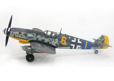 BF-109G 9./JG54 FW Fritz Ungar, 1:72, Witty Wings