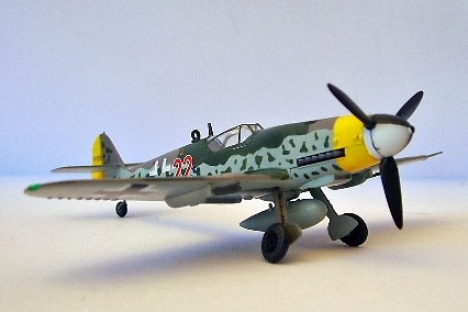 BF109G-10, Luftwaffe, 1945, 1:72, Easy Model