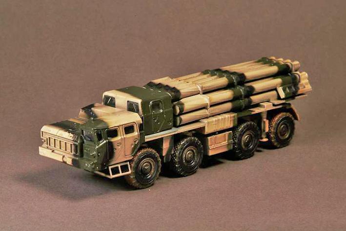 BM-30 'Smerch' 9A52-2 Smerch-M MRL, Ejército Ruso, 2011, 1:72, War Master