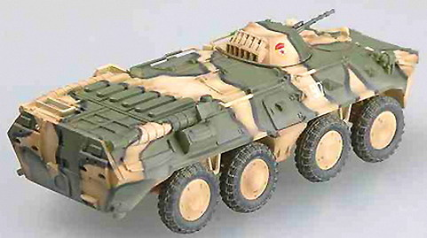BTR-80 APC, Russian Army batltle situation, 1994, 1:72, Easy Model