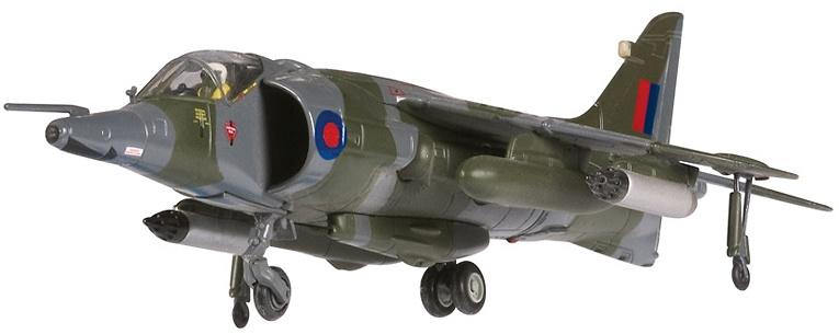 Bae Harrier GR.3, XW767 RAF No.1 Squadron, HMS Hermes, 1982, 1:72, Corgi