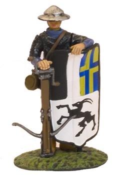 Ballestero con escudo,1:32, Altaya