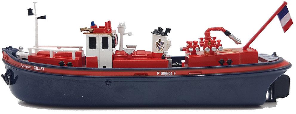 Barco de Bomberos Pompe Ltn Gillet SDIS 78, 1:130, Atlas Editions