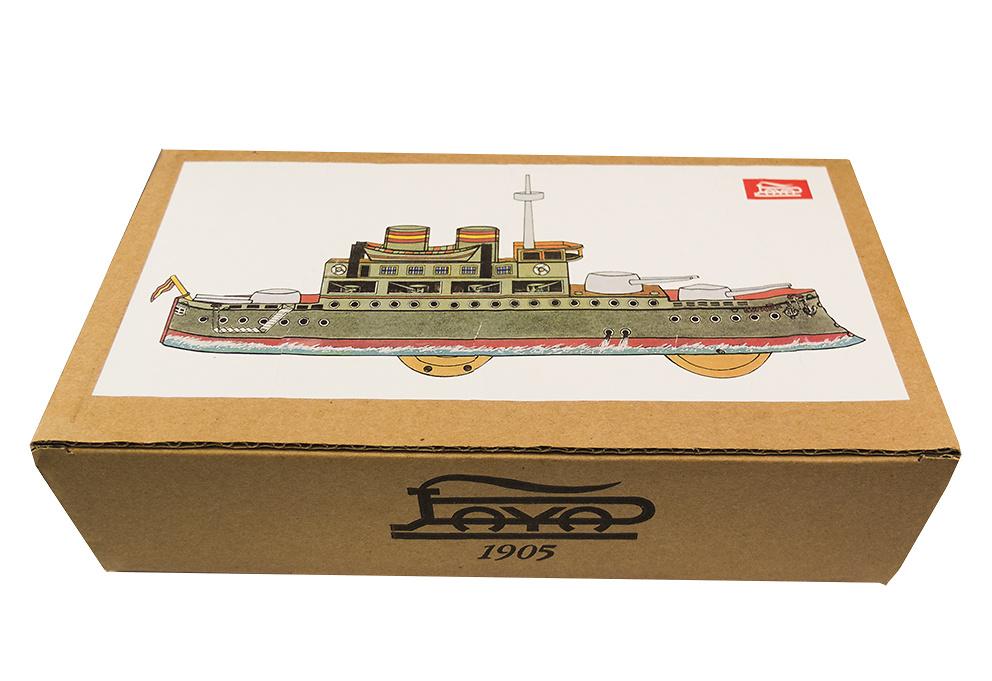 Barco de Guerra a cuerda