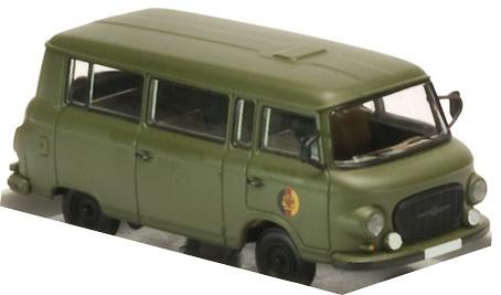 Barkas B1000 Kleinbus, DDR, 1:87, Brekina
