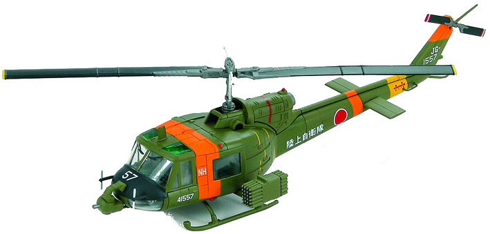 Bell UH-1B Huey, JGSDF (Japan Ground Self Defense Force), 1982, 1:72, Hobby Master
