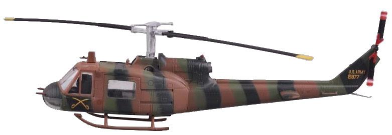 Bell UH-1B Huey, US Army, Cía Helicópteros Transporte Táctico, Tan Son Nhut, 1964, 1:72, Easy Model