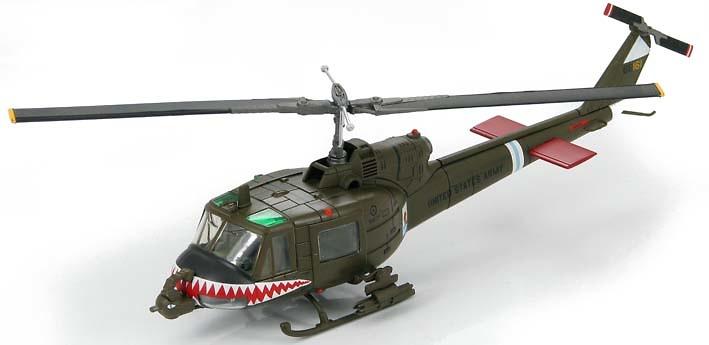 Bell UH-1C Huey Frog, Shark Gunship #66-15161, 1:72, Hobby Master