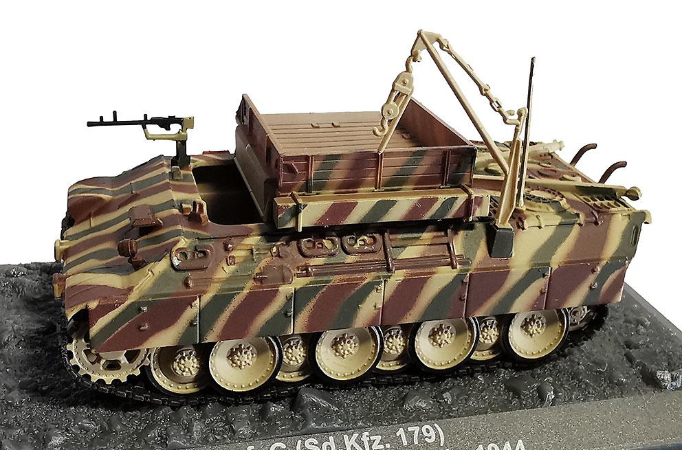 Bergepanther Ausf.G (Sd.Kfz.179) Frechen 1944, 1:72, Altaya