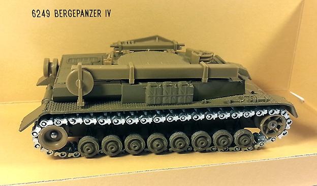 Bergepanzer IV, tanque de recuperación, 1944, Alemania, 1:50, Solido
