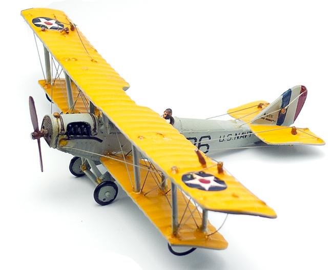 Biplano Curtiss JN-4 Jenny, U.S. Navy, 1:72, Planeta de Agostini