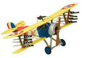 Biplano Nieuport 11-16, 1:72, Planeta de Agostini