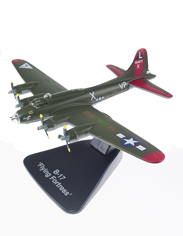 Boeing B-17 Flying Fortress, USAAC,1937/45, 1:144, Editions Atlas