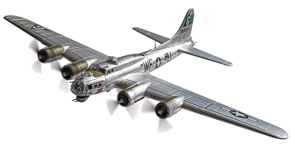 Boeing B-17G Flying Fortress 44-6009 'Flak Eater', USAAF 8th Air Force, Agosto, 1944, 1:72, Corgi