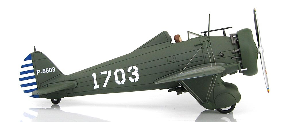 Boeing Modelo 281 1703, 17º Esquadrón, Fuerzas Aéreas Chinas, Nanking, 2ª Guerra Mundial, 1:48, Hobby Master