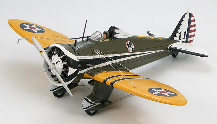 Boeing P-26A Peashooter 33-63 34th Pursuit Sqn., 17th Pursuit Group, March Field, CA, 1:48, Hobby Master