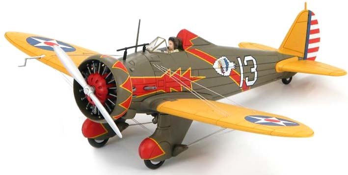 Boeing P-26A Peashooter 94th Pursuit Squadron, 1:48, Hobby Master