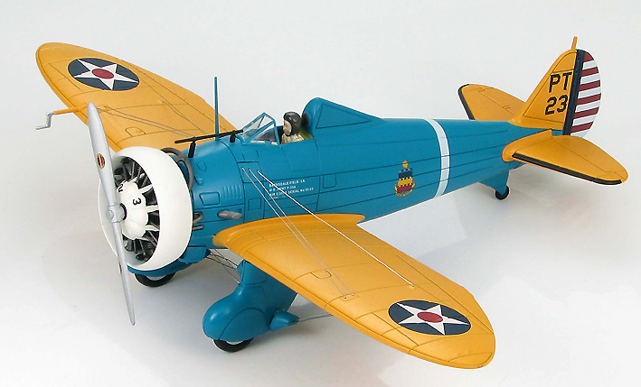 Boeing P-26A US Army Air Corps 33-23, 20th PG, Barksdale Field, Louisiana, 1:48, Hobby Master