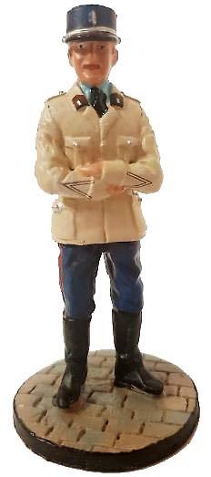 Bombero, Oficial no comisionado con traje de servicio, 1971, 1:30, Del Prado