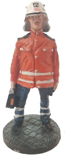 Bombero Enfermero de ambulancia, Berlín, Alemania, 2006, 1:30, Del Prado