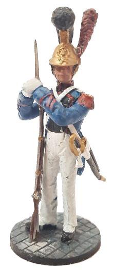Bombero con traje ceremonial, Francia, 1821, 1:30, Del Prado