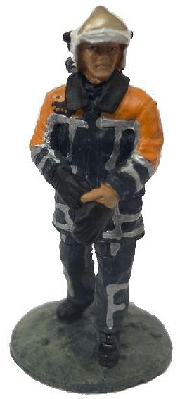 Bombero con traje ignífugo, Holanda, 2003, 1:30, Del Prado