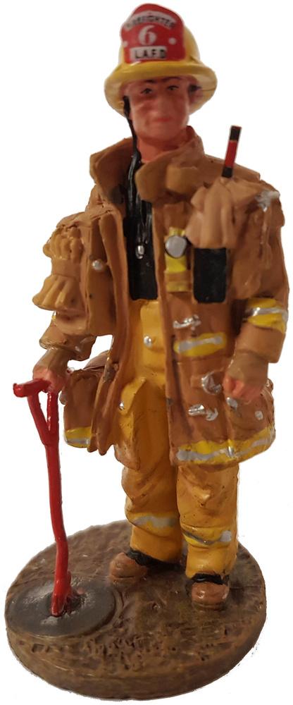 Bombero con traje ignífugo, Los Angeles, EEUU, 2002, Del Prado