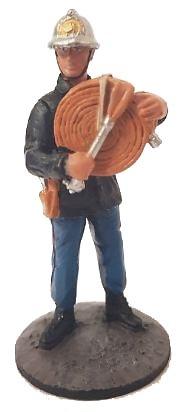Bombero con traje ignifugo, Paris, 1982, 1:30, Del Prado