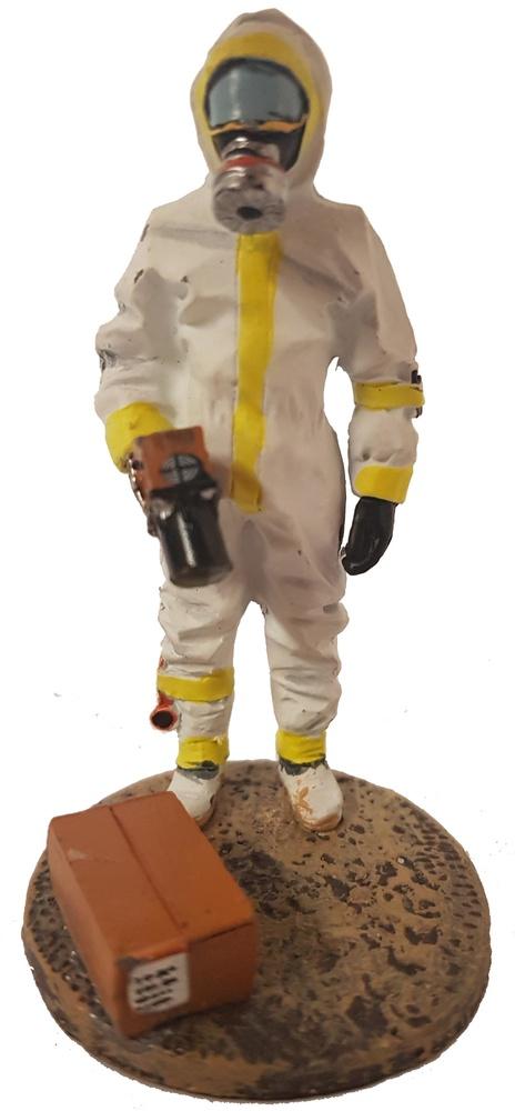 Bombero unidad de detección radiológica, Francia, 2008, 1:30, Del Prado