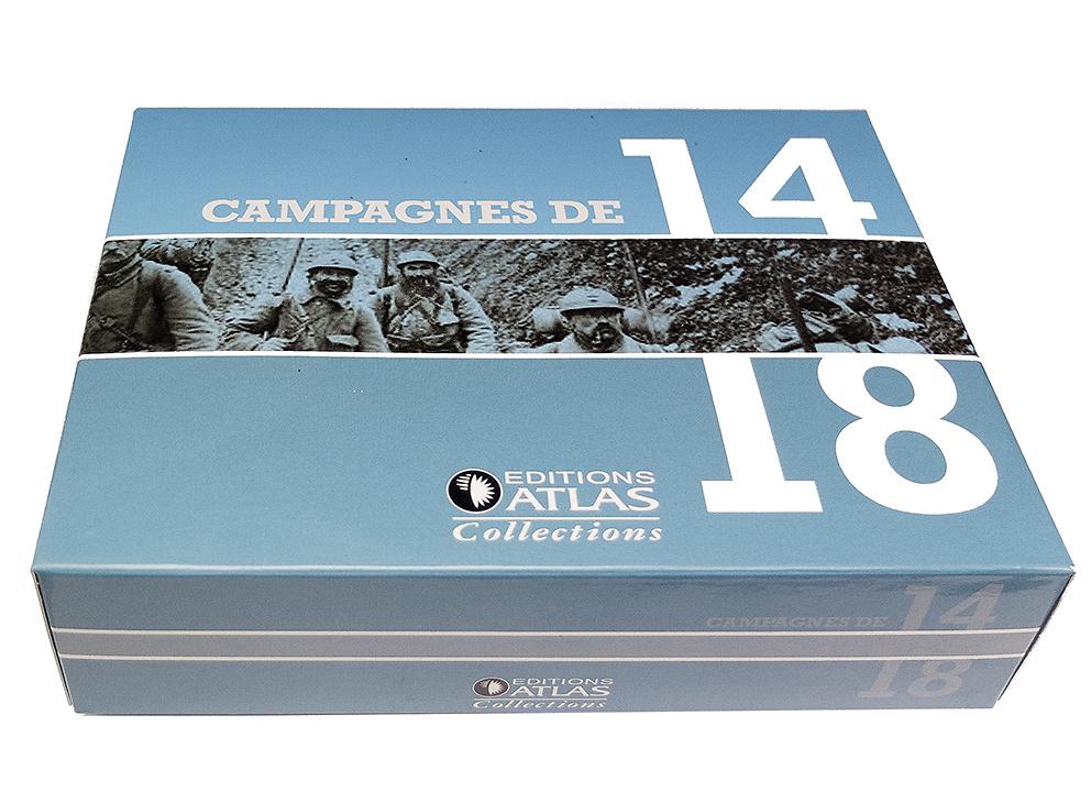 Brigadier de Artillería y Caballo de tiro, Francia, 1914, 1:24, Atlas Editions