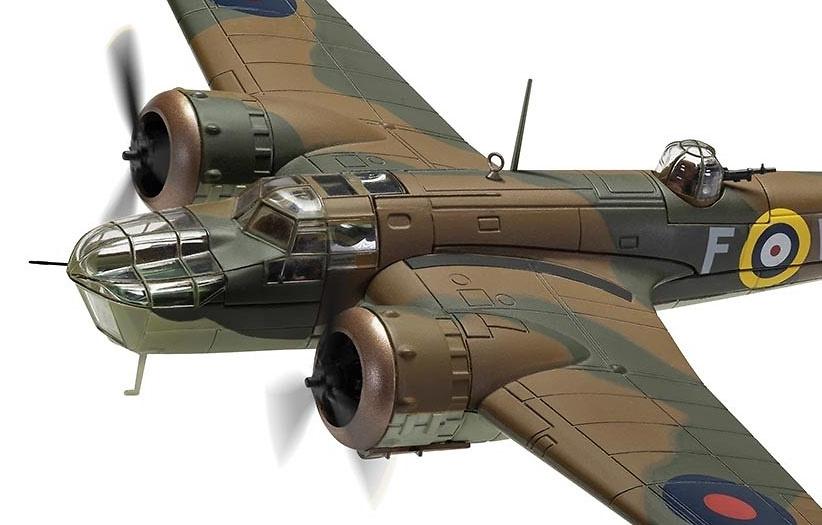 Bristol Blenheim Mk.IV R3843/WV-F,