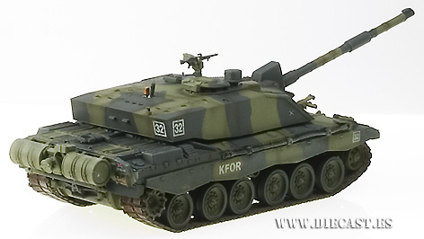 British Challenger II, 1:72, Easy Model