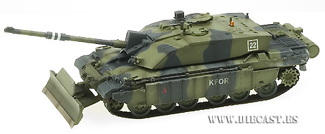 British Challenger II, Kosovo 1999, 1:72, Easy Model
