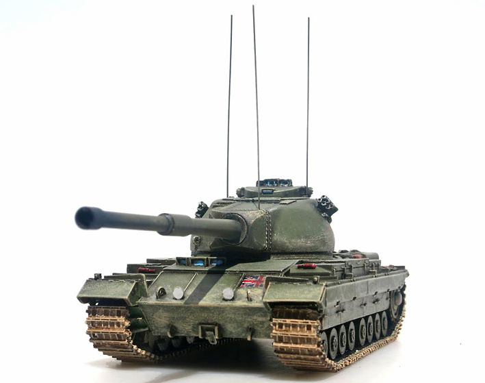 British FV 214 Conqueror Mk.II, 1955-59, 1:72, Panzerstahl