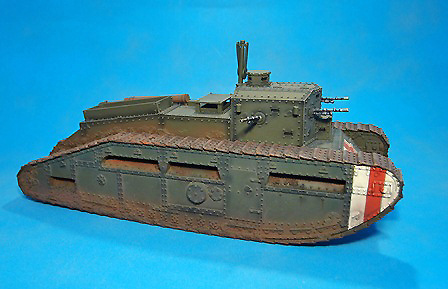 British Medium Tank, MARK C,