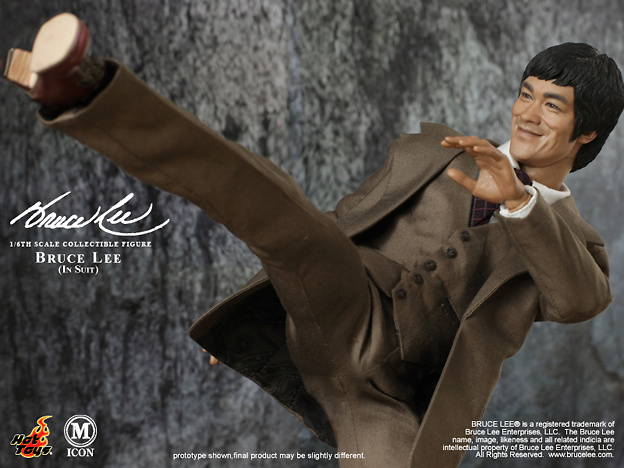Bruce Lee, Suit Version, 1:6, Hot Toys