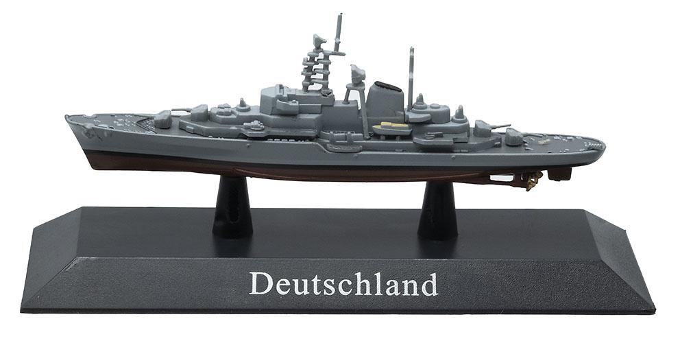 Buque de Entrenamiento Deutschland, Kriegsmarine, 1960, 1:1250, DeAgostini