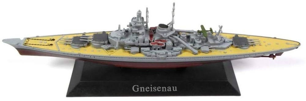 Buque de Guerra Gneisenau, 1:1250, DeAgostini