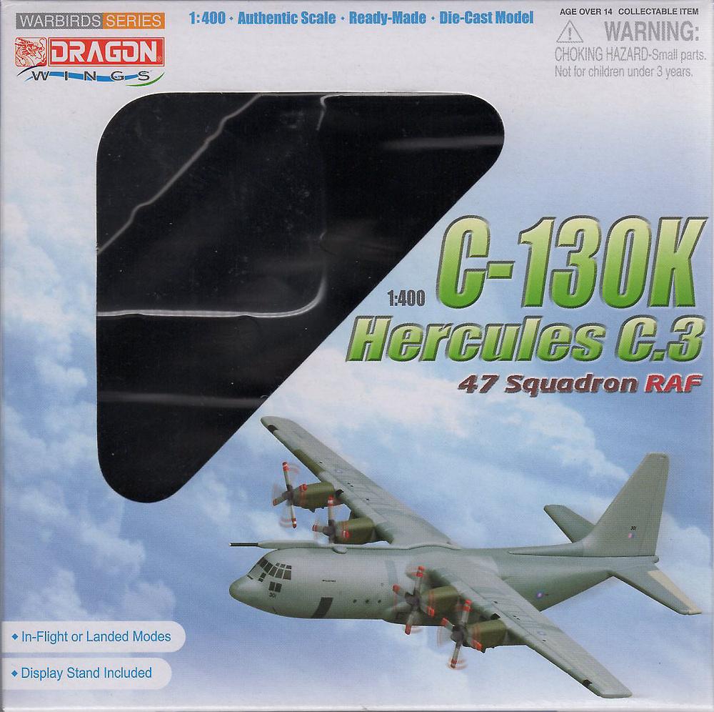 C-130K Hercules C.3, 47 Squadron, RAF, 1:400, Dragon Wings