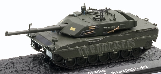 C1 Ariete, 132 Brigata Corazzata