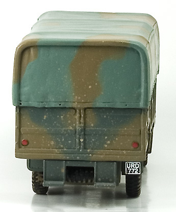 CORGI, CAMION BEDFORD, QLT TROOP CARRIER, 1:50