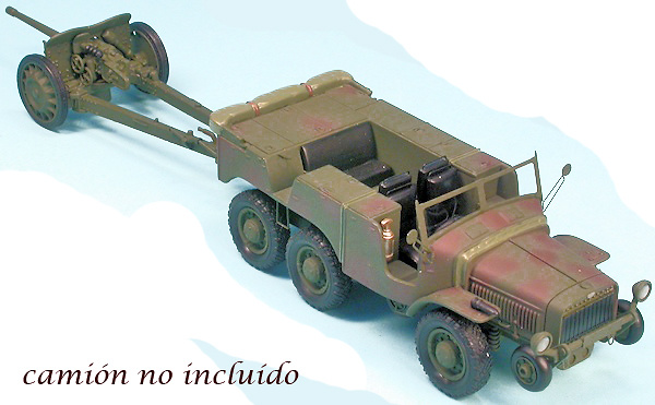 Cañón 47 m.m. anti-carros, 1937, Francia, 2ª Guerra Mundial, 1:48, Gasoline