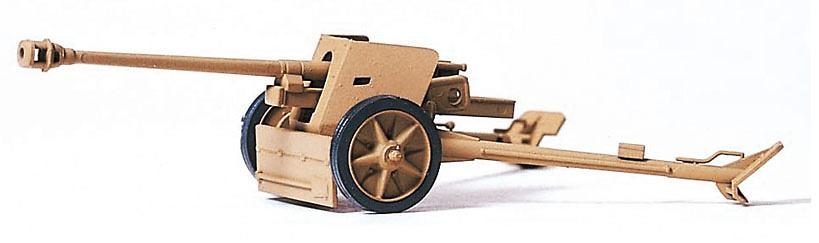 Cañón alemán anti carros, 1939-45, 1:87, Preiser