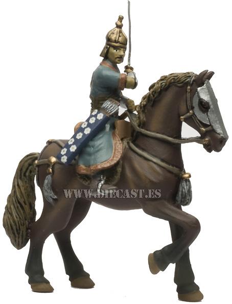 Caballero Mongol de la Horda de Oro, Siglo XIII, 1:32, Altaya